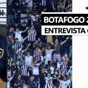 Enderson valoriza apoio da torcida do Botafogo no Nilton Santos e explica Daniel Borges no banco contra o CRB