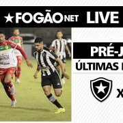 LIVE | Botafogo x Brusque - onde assistir, prováveis escalações e últimas notícias