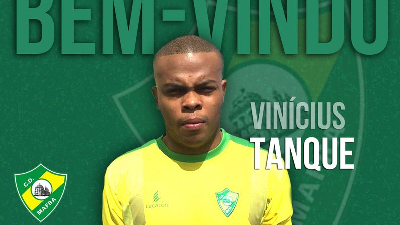 Vinicius Tanque é anunciado por clube recém-promovido à Segundona de Portugal