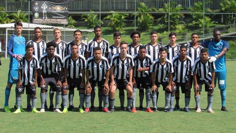 Sub-17: Botafogo estreia no Brasileirão quinta contra o América-MG no Cefat