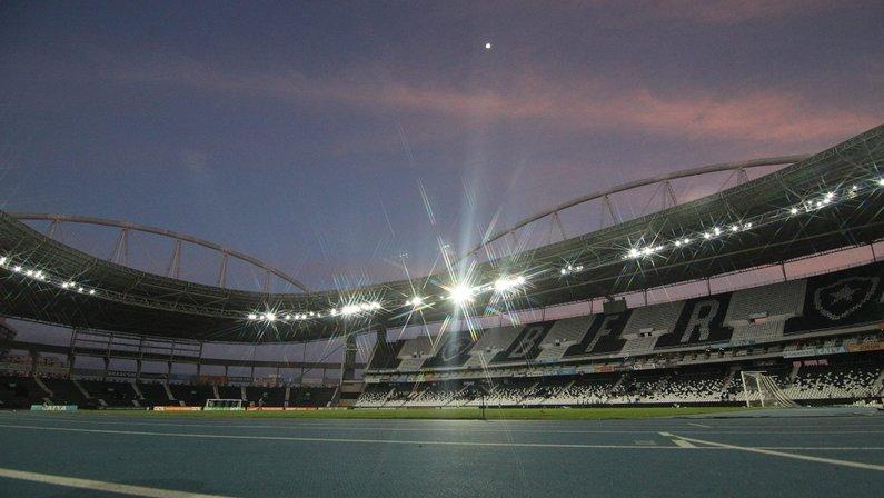 Estádio Nilton Santos, o Engenhão, casa do Botafogo
