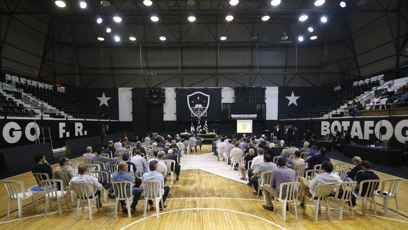 Reunião do Conselho Deliberativo que aprovou plano de transformação do Botafogo para S/A