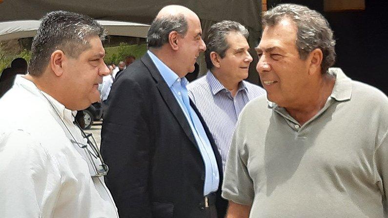Marco Agostini, Nelson Mufarrej, Ricardo Rotenberg e Carlos Augusto Montenegro   Comitê executivo de futebol do Botafogo 2020