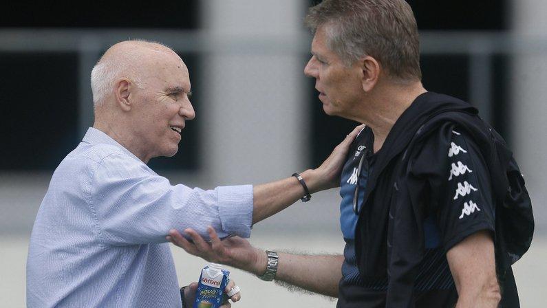 Botafogo paralisa ajustes no futebol após morte de Valdir Espinosa