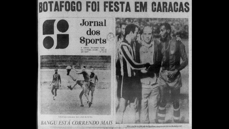 Fifa descarta Botafogo campeão mundial por Caracas, diz site