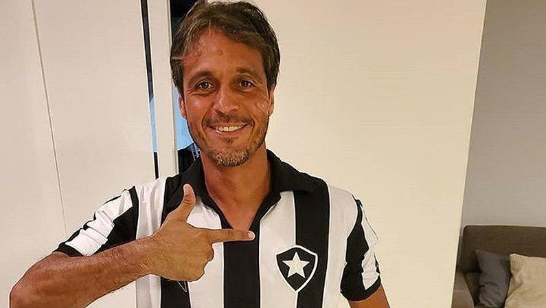 Sergio Manoel, campeão brasileiro pelo Botafogo em 1995