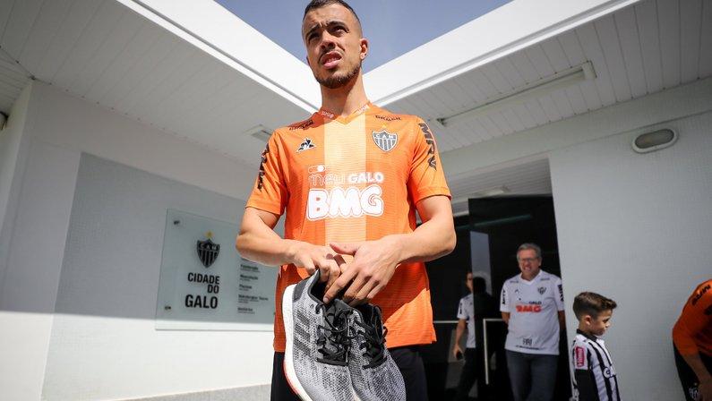 Di Santo, jogador do Atlético-MG, quase foi contratado pelo Botafogo