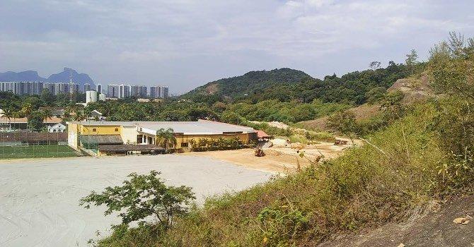 Obras do Novo CT Centro de Treinamento do Botafogo