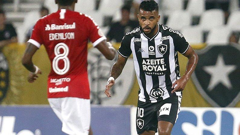 Alex Santana em Botafogo x Internacional | Campeonato Brasileiro 2019