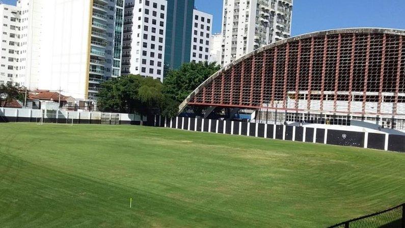Caio Martins, sede da base do Botafogo em Niterói