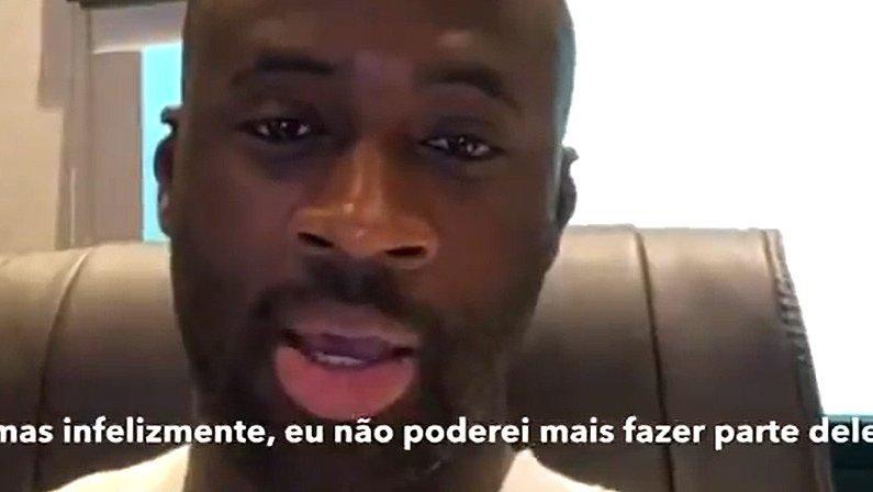 Ex-alvo do Botafogo, Yaya Touré desfaz acordo com candidato do Vasco
