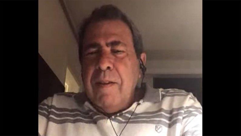 Carlos Augusto Montenegro, membro do Comitê Executivo do Botafogo, em entrevista ao Canal do TF