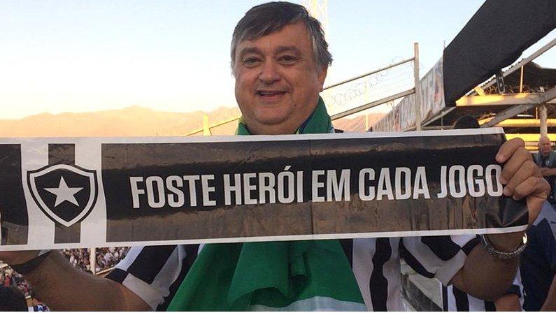 Durcesio Mello, candidato a presidente do Botafogo