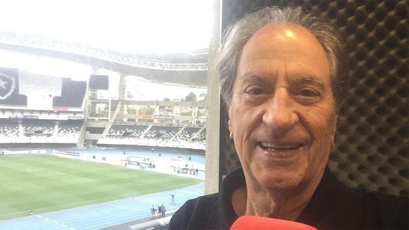 José Carlos Araújo, o Garotinho, no Estádio Nilton Santos, casa do Botafogo