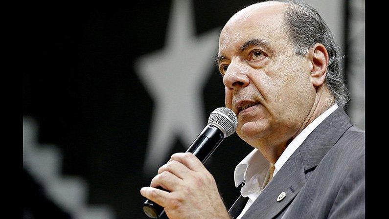 Nelson Mufarrej, presidente do Botafogo