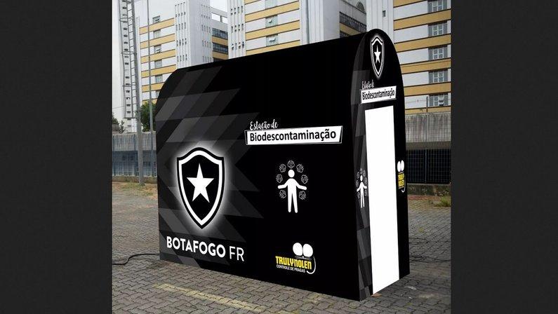 Botafogo vai instalar túnel de bio-descontaminação no Estádio Nilton Santos