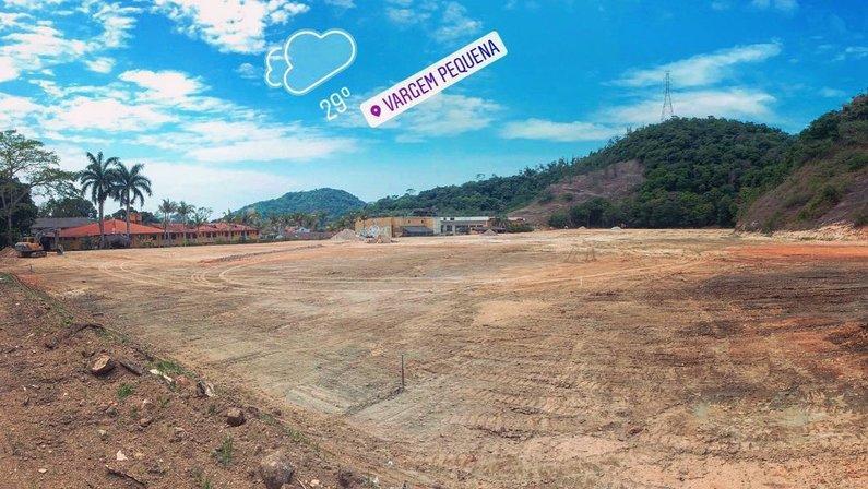 Obras de terraplanagem do novo CT Centro de Treinamento do Botafogo