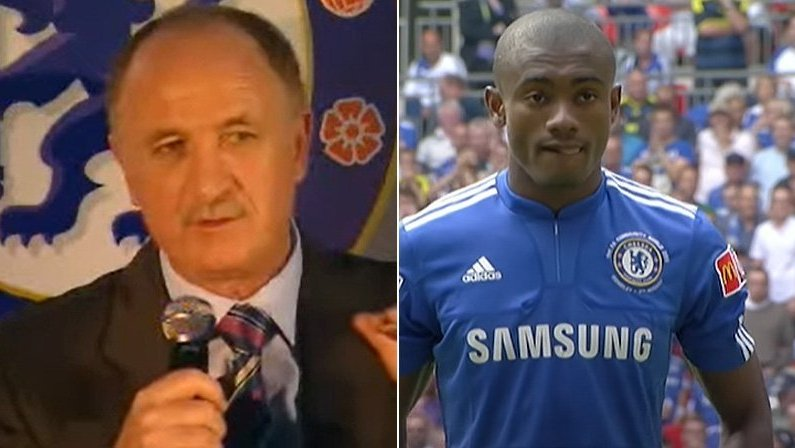 Ex-técnico do Chelsea, Luiz Felipe Scolari (Felipão) elogia Salomon Kalou, novo atacante do Botafogo