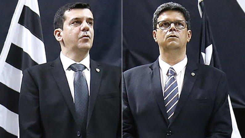 Jorge Magdaleno e Alessandro Leite devem representar o Mais Botafogo na eleição de 2020