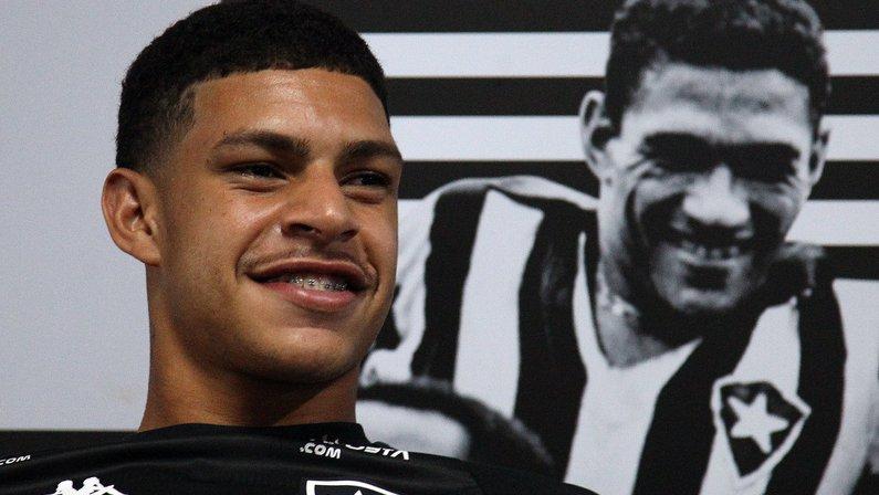 Luis Henrique e Mané Garrincha - Botafogo