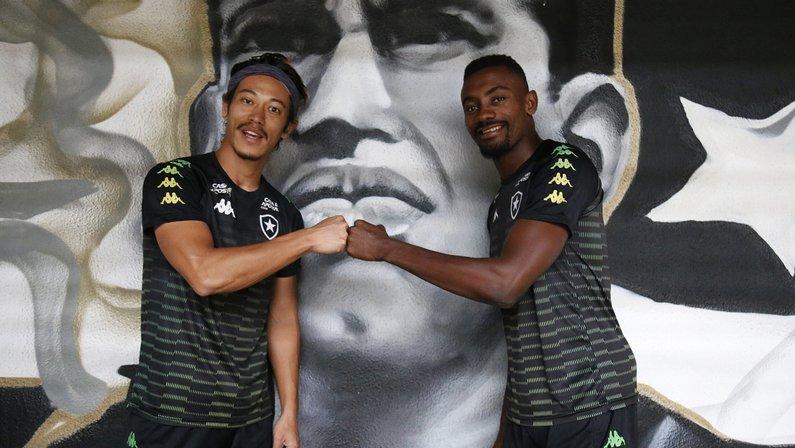 Honda e Kalou no Botafogo