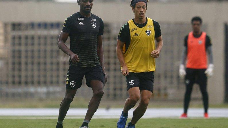 Kalou e Honda - Botafogo