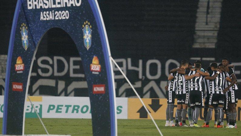 Elenco Brasileirão - Botafogo x Santos - Campeonato Brasileiro 2020