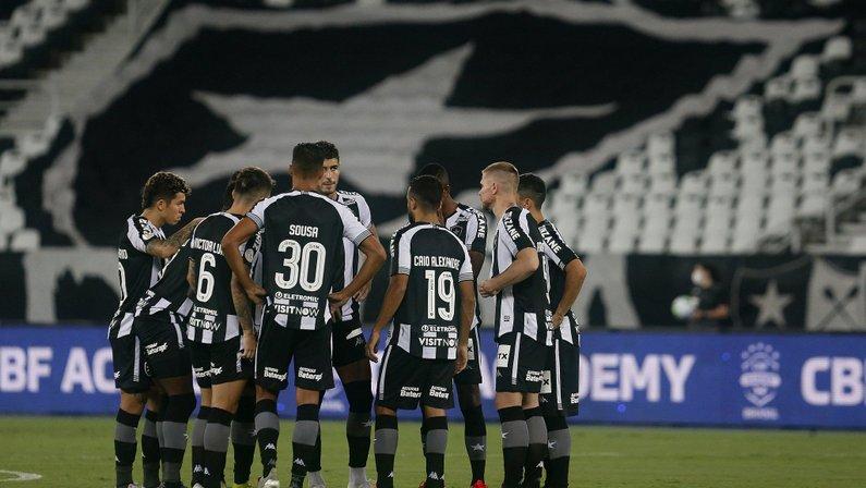 Elenco - Botafogo x Bahia - Campeonato Brasileiro 2020
