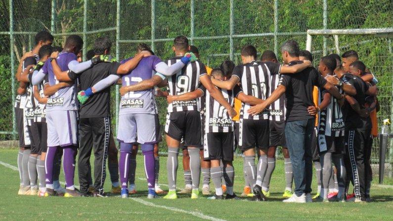 Botafogo sub-20 no CEFAT