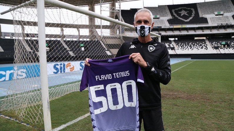 Flávio Tênius - Botafogo 500 jogos