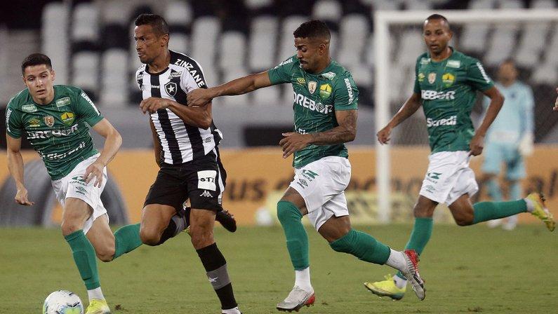 Cícero - Botafogo x Cuiabá - Copa do Brasil