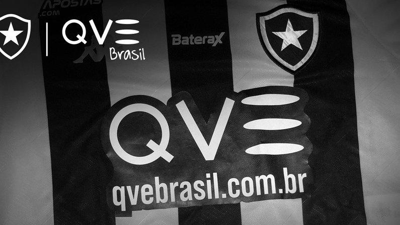 QVE Brasil é o novo patrocínio master do Botafogo