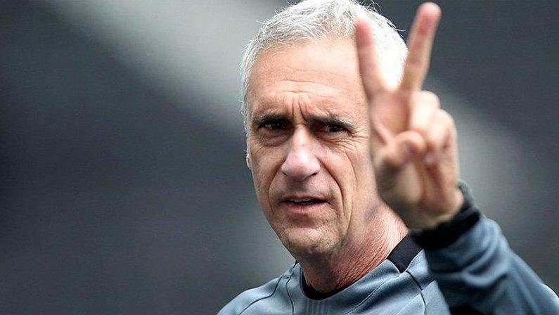 Flavio Tenius, preparador de goleiros do Botafogo, técnico interino da partida contra o Ceará | Campeonato Brasileiro 2020
