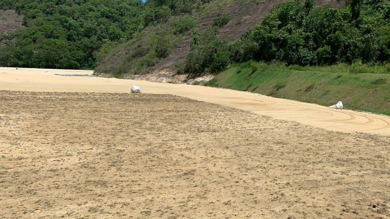 Novo CT do Botafogo começa a ganhar grama