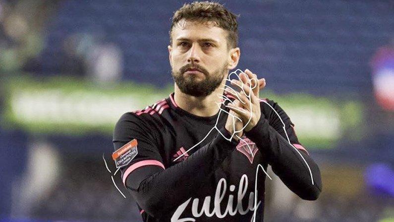 João Paulo, ex-Botafogo, no Seattle Sounders