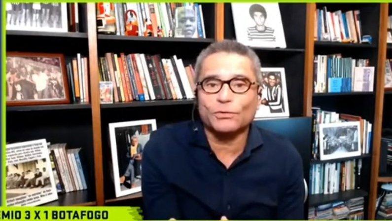 PC Vasconcellos, comentarista do SporTV