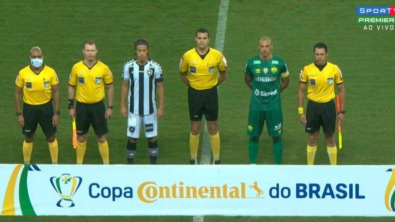 Honda - Cuiabá x Botafogo - Copa do Brasil