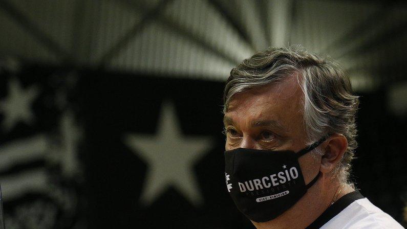 Durcesio Mello - Eleição no Botafogo