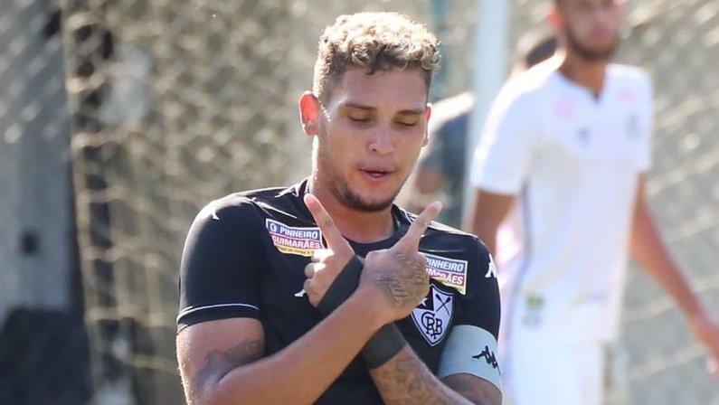 Rafael Navarro, atacante do Botafogo