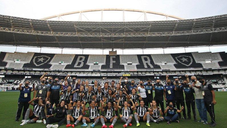 Futebol feminino do Botafogo