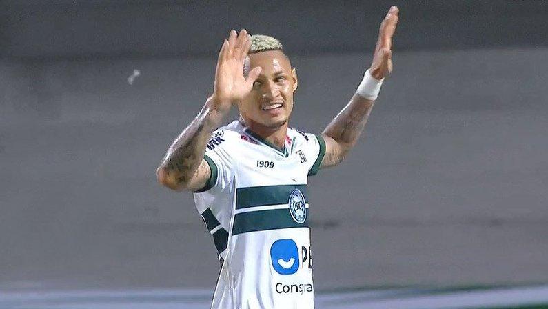Neilton não comemora gol em Coritiba x Botafogo | Campeonato Brasileiro 2020