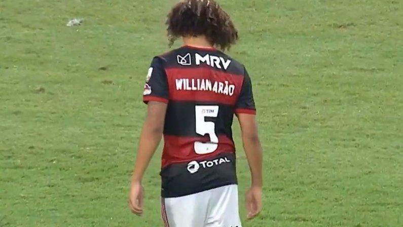 Willian Arão, ex-Botafogo, foi decisivo em eliminação do Flamengo na Libertadores