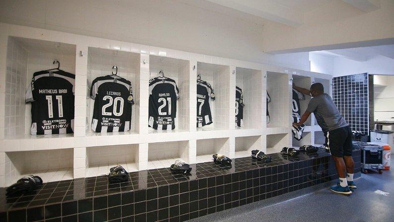 Vestiário - Santos x Botafogo