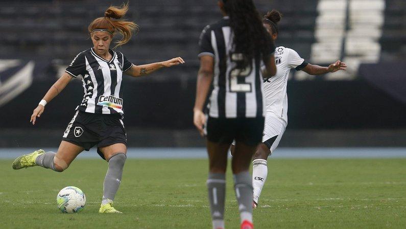 Futebol feminino: Botafogo se prepara para semifinal contra Bahia domingo no Nilton Santos