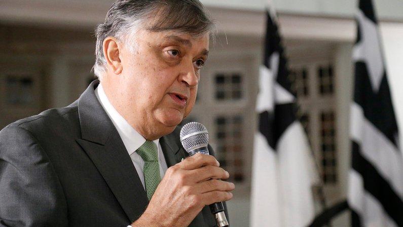 Posse do presidente do Botafogo Durcesio Mello