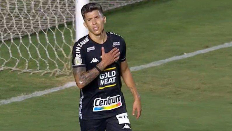 Bruno Nazário em Fluminense x Botafogo   Campeonato Brasileiro 2020