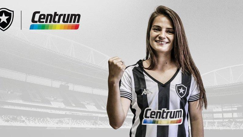 Patrocínio da Centrum ao futebol feminino do Botafogo