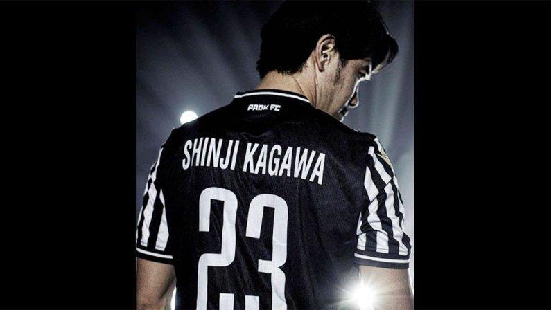 Shinji Kagawa, desejo da torcida do Botafogo, assina contrato com o PAOK, da Grécia