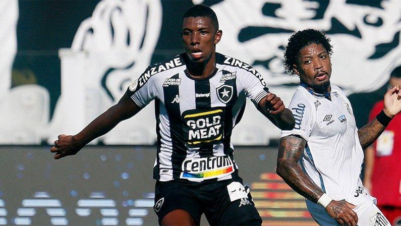 Kanu em Santos x Botafogo | Campeonato Brasileiro 2020