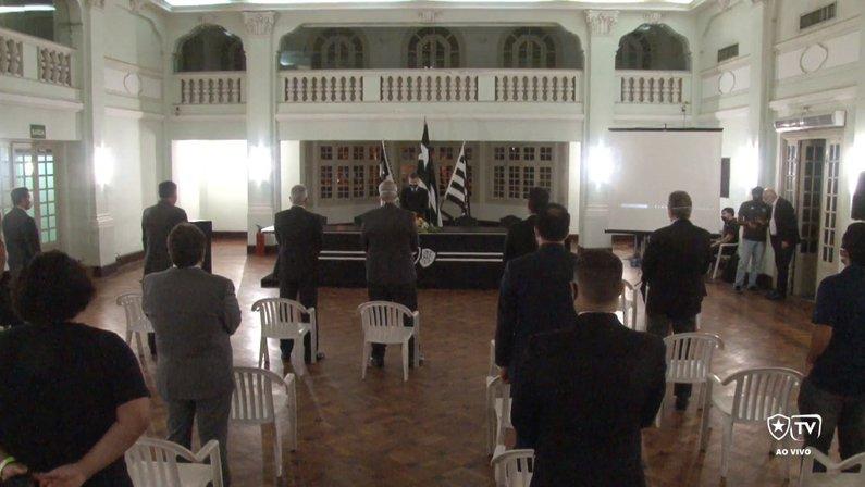 Cerimônia de posse do presidente Durcesio Mello em General Severiano